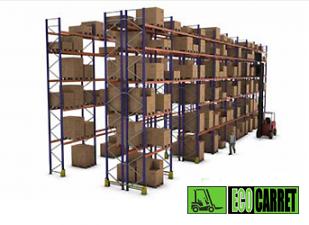 Estanterías y sistemas de almacenamiento