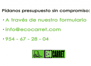 Contacto empresa de carretillas elevadoras en Sevilla