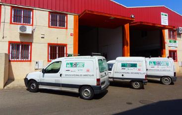 Servicio técnico de carretillas elevadoras en Sevilla - Ecocarret