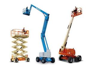 Servicios de alquiler de carretillas elevadoras y maquinaria de elevación
